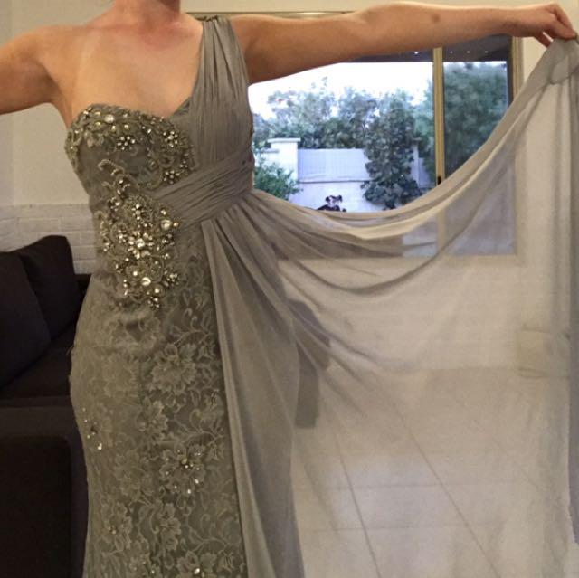 Silver Ball Dress