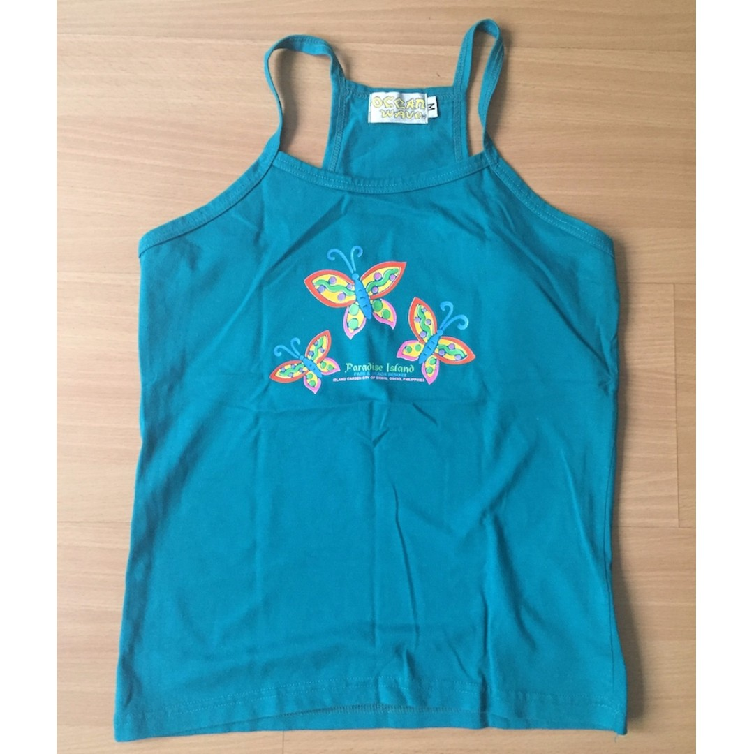 Sleeveless Top for Women by Ocean Wave Size M