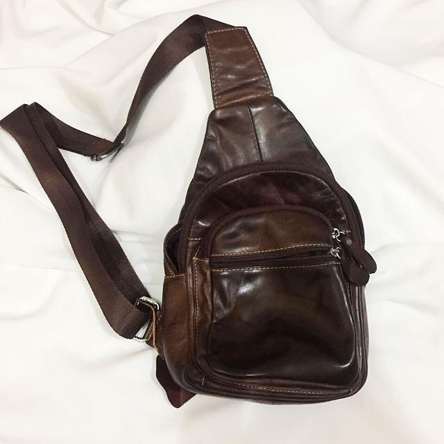 Sling Bag Leather ORIGINAL 💯