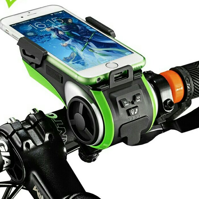 promo code 585f1 e2163 Smart Bike Light Bell Waterproof Bike Phone Holder Bluetooth Sensor ...
