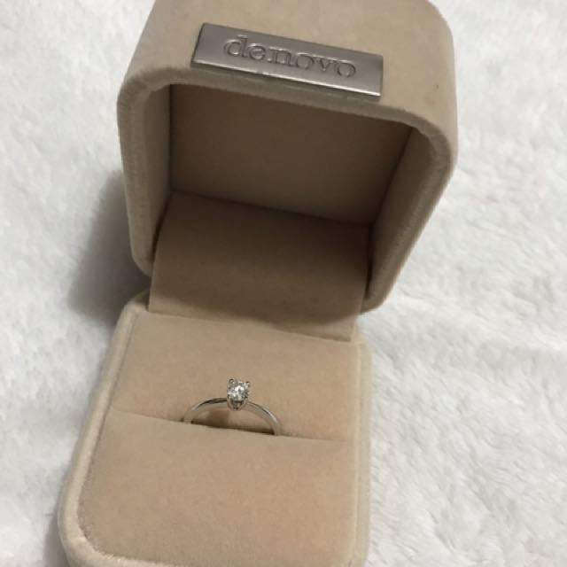 Solitaire 4-Prong Diamond Engagement Ring