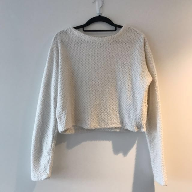 💖SPARKLY LONG SLEEVE CROP💖