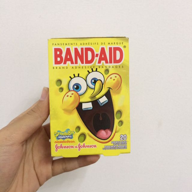 Spongebob Band Aid LIMITED SUPERCUTE!