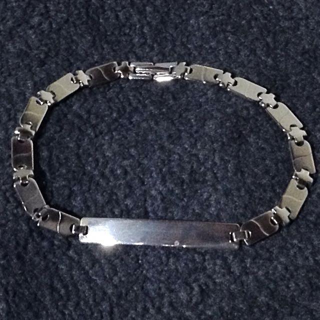 Stainless ID Bracelet