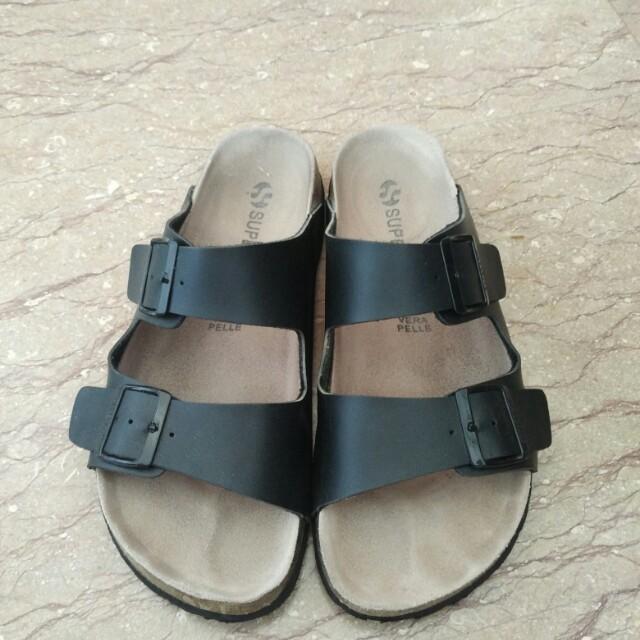 f605372b1 Superga Sandals (Birkenstock Arizona Style) Size 42