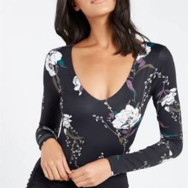 Supre floral bodysuit