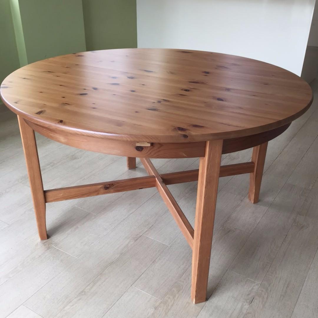 Awe Inspiring Ikea Leksvik Dining Table Furniture Tables Chairs On Download Free Architecture Designs Rallybritishbridgeorg