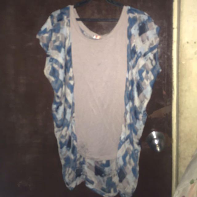 Take all 100 chiffon blouses