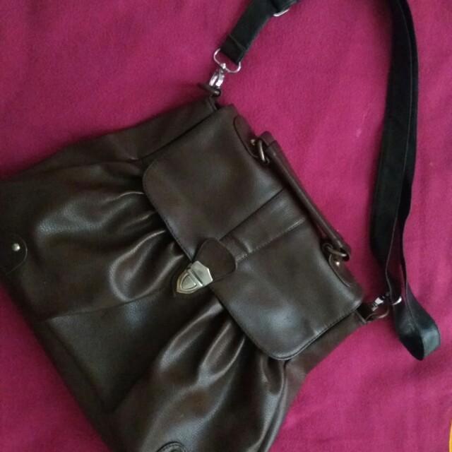 Tas HUBSCH premium leather