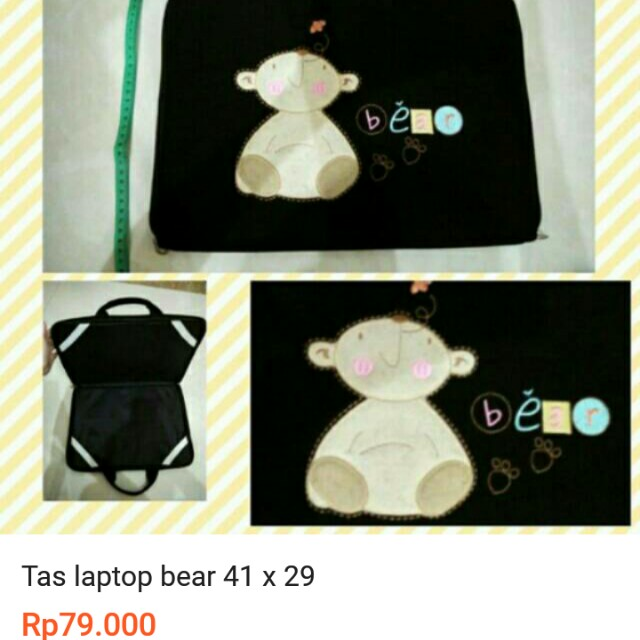 Tas laptop bear 41 x 29