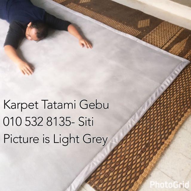 Tatami Carpet / Karpet Lembut Gebu Gebas