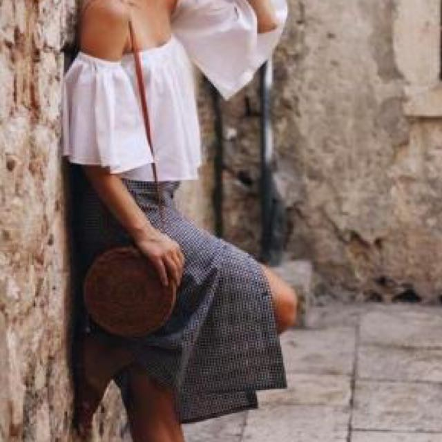 Terno (Off Shoulder Tops + Skirt)
