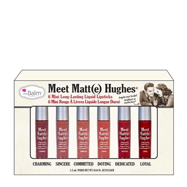 The Balm Meet Hughes Lipstick