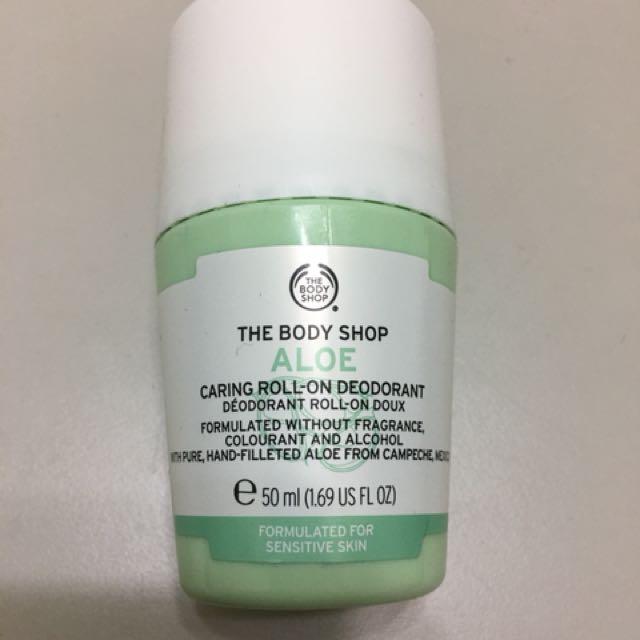 The Body shop蘆薈體香劑/體香膏