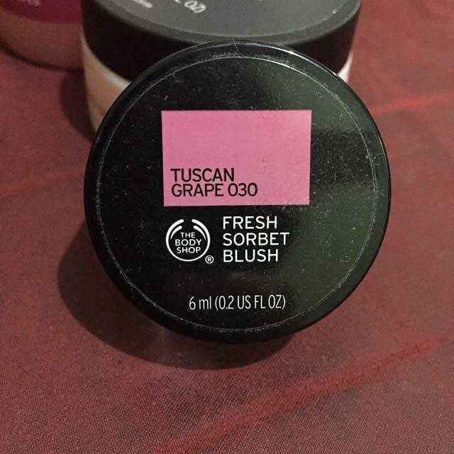 The Body Shop Creme Sorbet Blush On