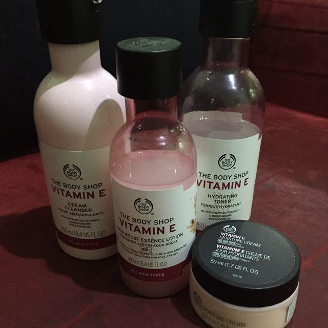 The Body Shop Vit E Series
