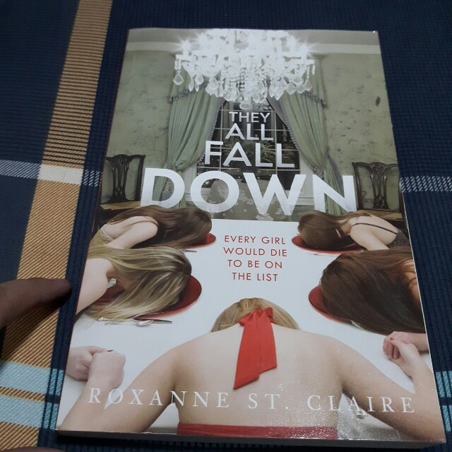 They All Fall Down By Roxanne St Claire Books Books On Carousell