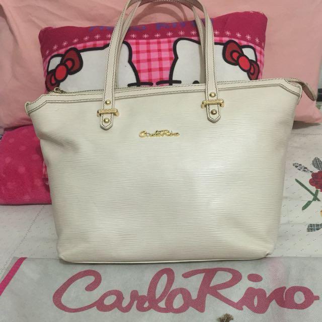 8348525f8ba1 TURUN HARGA Carlo Rino Tote Bag Original Leather