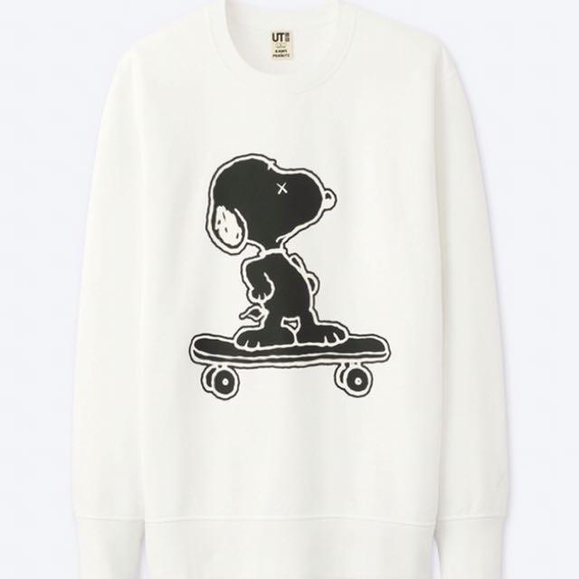 Uniqlo Peanuts x Kaws Crewneck sweater