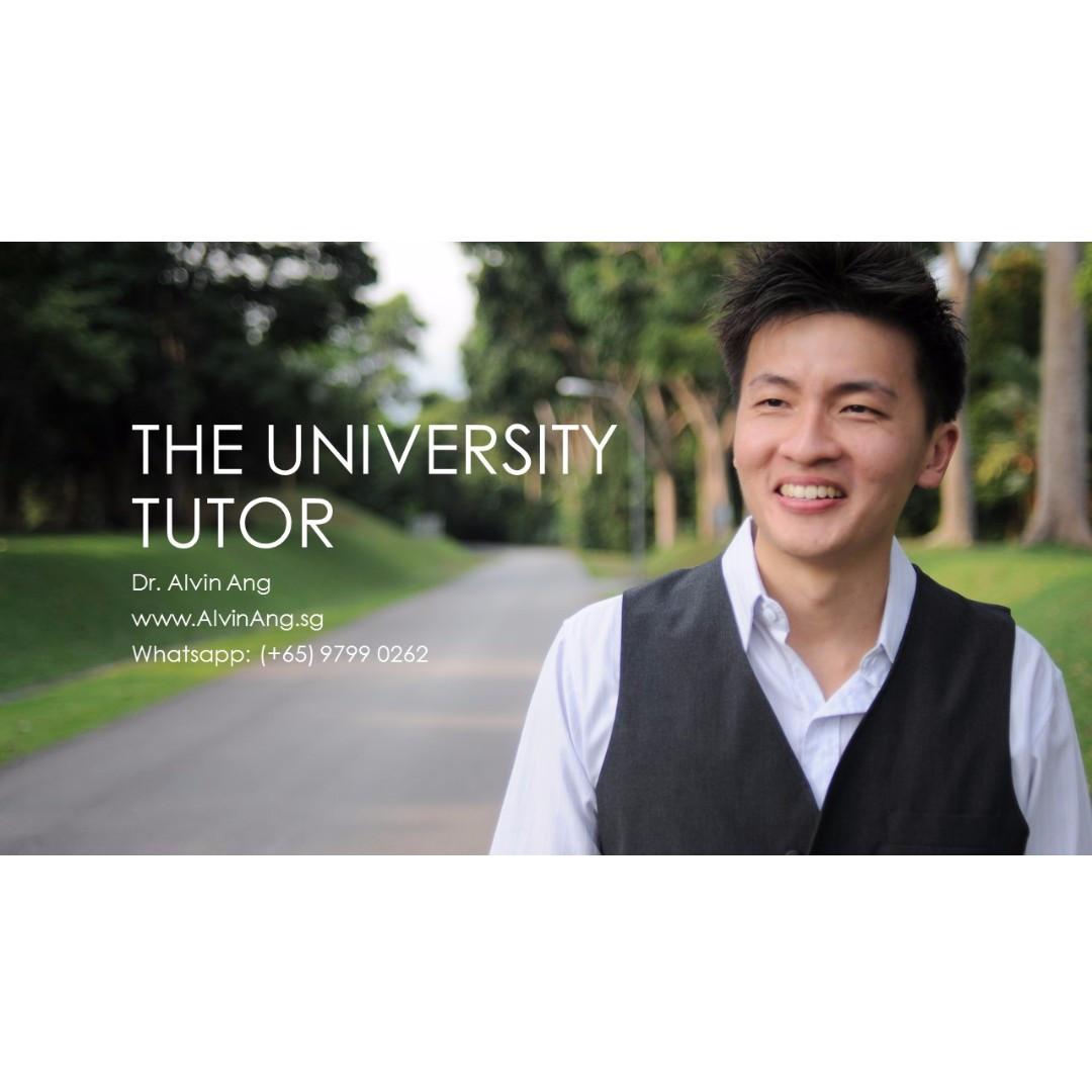 University Tuition - Logistics, Mathematics, Operations, Statistics, Quantitative Methods, Computing, Engineering, Business Strategy