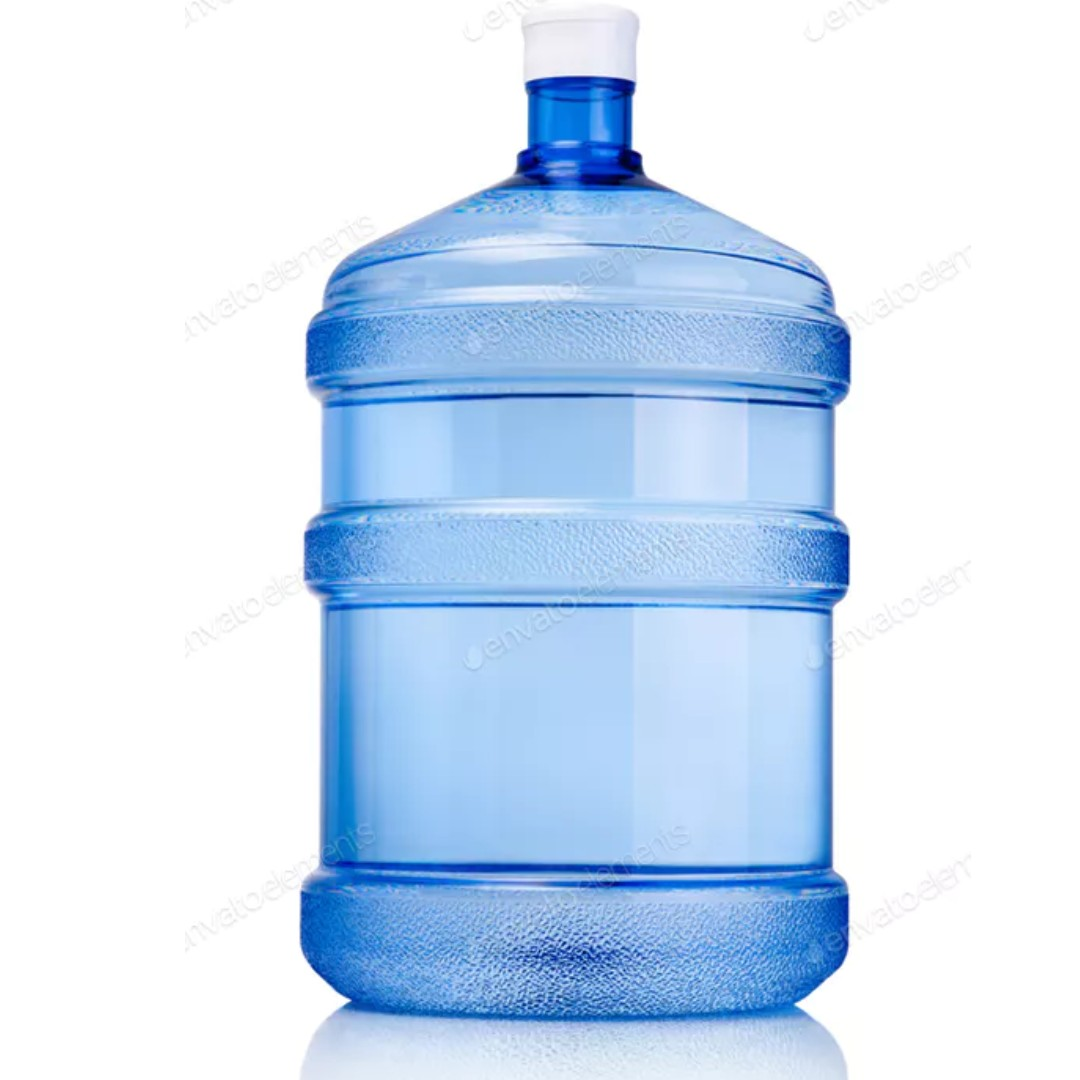 Water Bottle Uses: USED MINERAL WATER BOTTLE 18.9 LITER, Everything Else