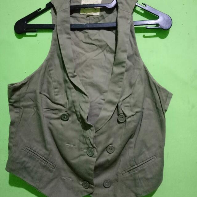 Vest hijau army