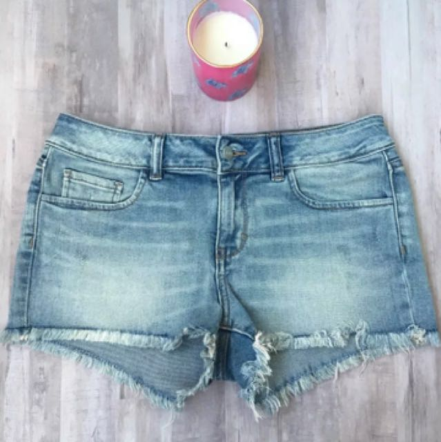 548d468987dac Victoria's Secret PINK Light Blue Denim Shorts Pants