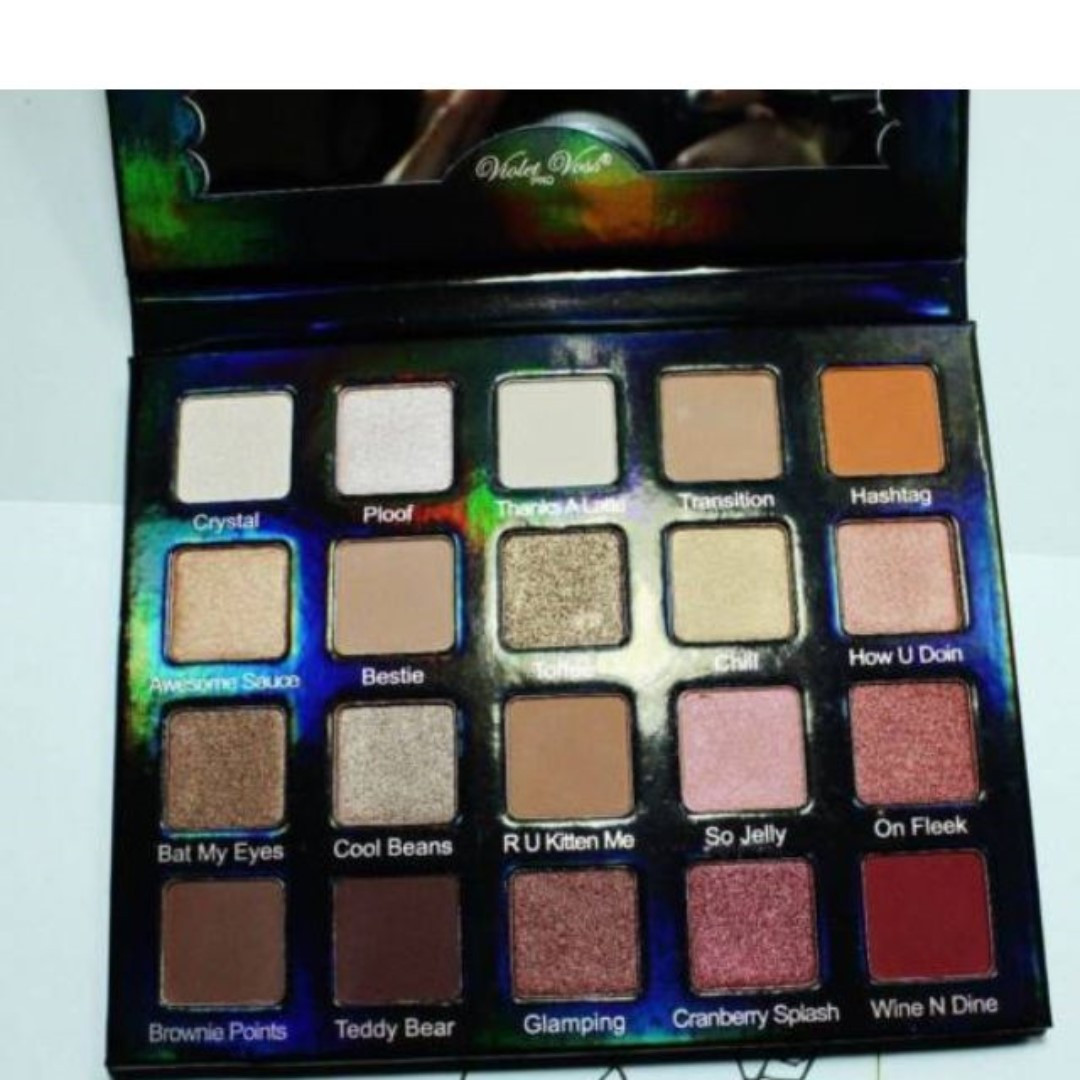 VIOLET VOSS HOLY GRAIL HG EYESHADOW PALETTE NEW VERSION BRAND NEW + AUTH