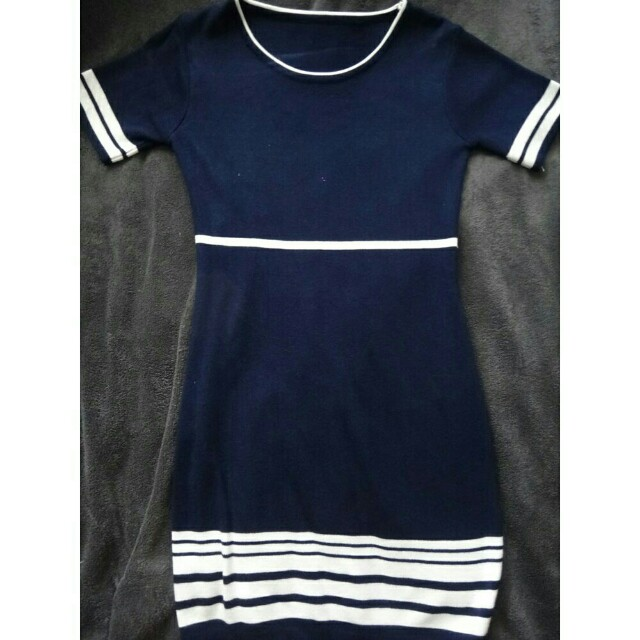 Women's Knitted Casual Dress