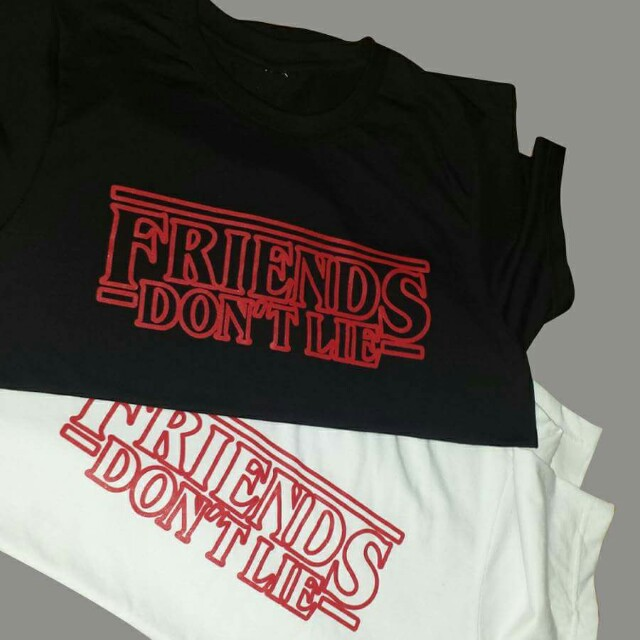 """XMAS SALE """"Friends Don't Lie"""" Stranger Things inspired shirt"""