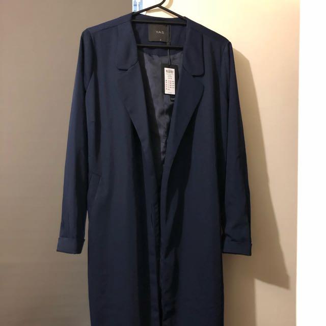 YAS Navy Coat