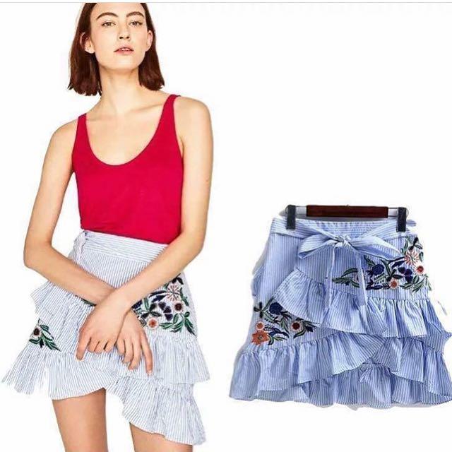 Zara Inspired Wrap Skirt