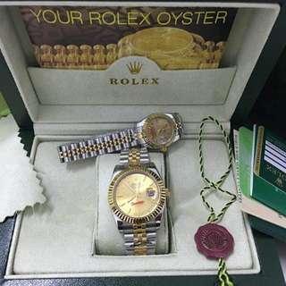 Rolex high quality replica 2800 each plus box worth 500
