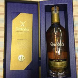 Glenfiddich Vintage cask Single Malt Scotch Whisky 700ml