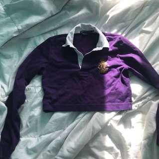 Cropped Polo Long sleeve