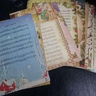 (包郵) 聖誕明信片 送你一首聖誕歌 $5兩張 或 $6三張