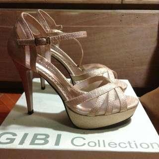 Gibi Rose Gold Heels