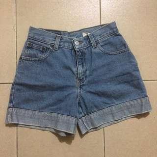 Denim Cuff shorts