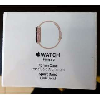 Brand New Sealed Apple Watch Series 2 Rose Gold 42mm