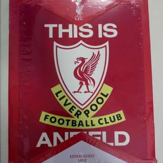 LIVERPOOL - THIS IS ANFIELD METAL SIGN
