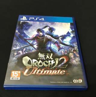 PS4 無雙OROCHI 2 ULTIMATE