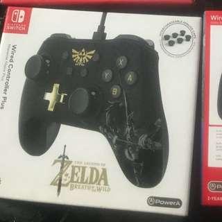 Nintendo switch Zelda wired remote