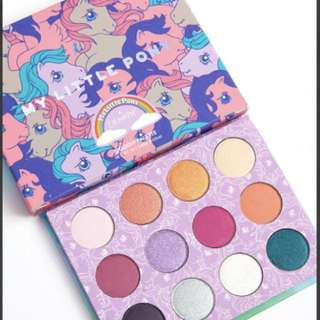 🌟RESTOCK🌟[COLOURPOP] My Little Pony Pressed Powder Shadow Palette