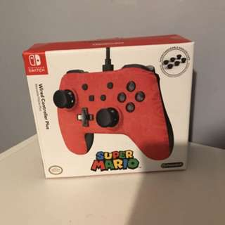 Nintendo switch MARIO wired controller