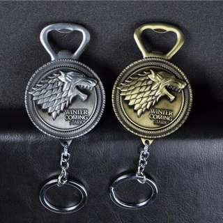 Game of Thromes - Themed Keychain/Keychain Bottle Opener