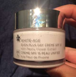 White age day cream