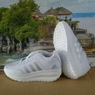 Sepatu Wedges Wanita Adidas Import Kualitas Bagus