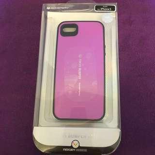 iPhone 5/5S Focus Bumper Case - Purple (Anti-shock)