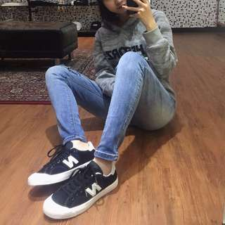 🚚 New balance proctsbe 黑色麂皮帆布鞋
