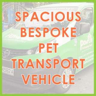 Professional Pet Transport Services